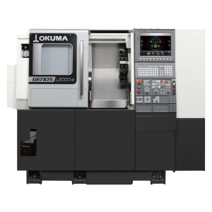 Okuma GENOS L2000-e vízszintes eszterga