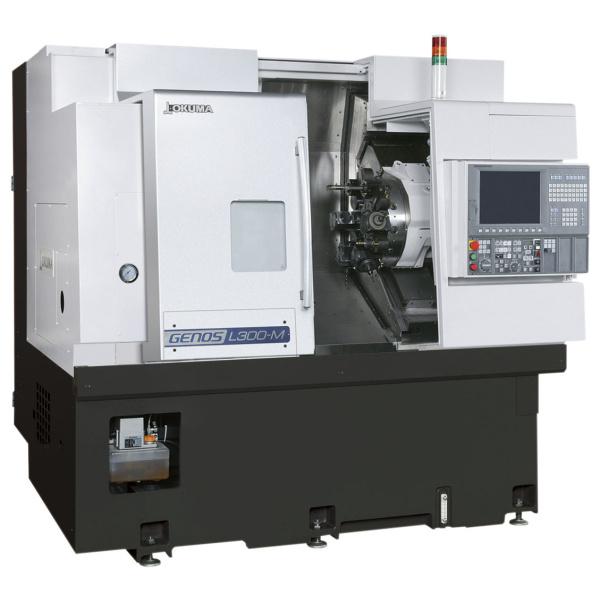 Okuma GENOS L300-MW-e vízszintes eszterga