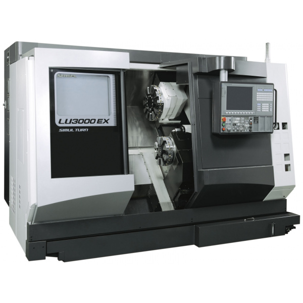 Okuma LU 3000 EX (M) vízszintes eszterga
